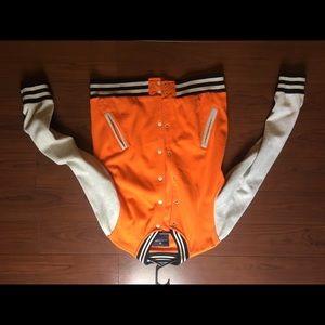 Light cotton varsity jacket